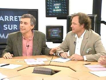 Guillaume Durand et Daniel Schneidermann dans Arrêt sur images